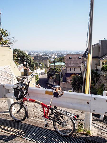 芦屋市霊園付近からの眺め