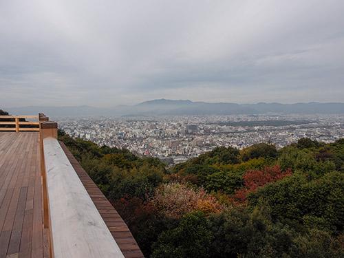 青龍殿 大舞台からの眺め