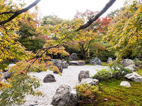 青龍殿 庭園