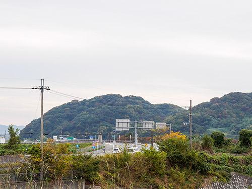 八幡 男山方面