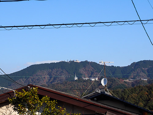 比叡山方面