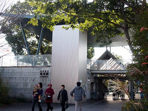 京阪電鉄 坂本駅