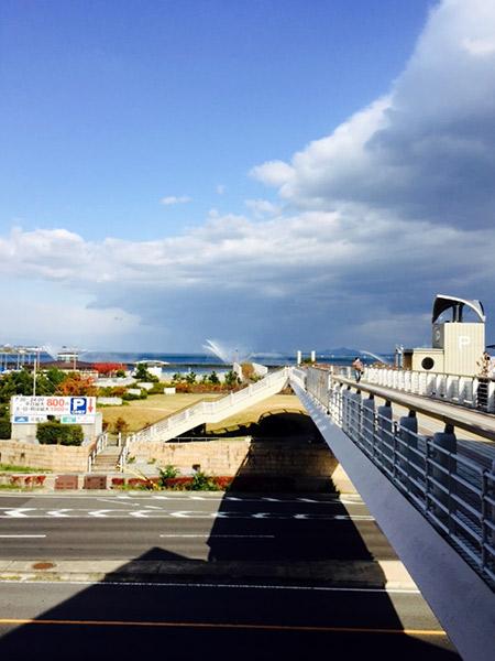 浜大津から琵琶湖