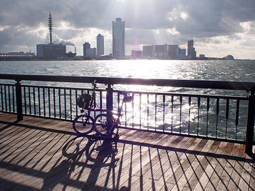 大阪港から南港方面