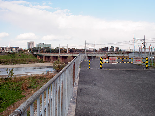 大和川 阪和線の鉄橋