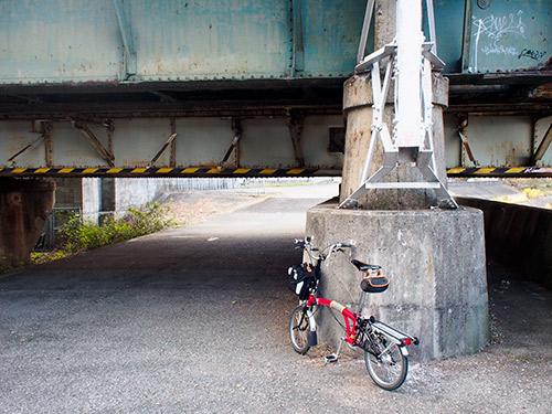 阪和線 大和川鉄橋