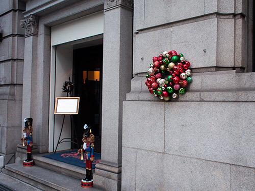 堺筋倶楽部 クリスマス飾り
