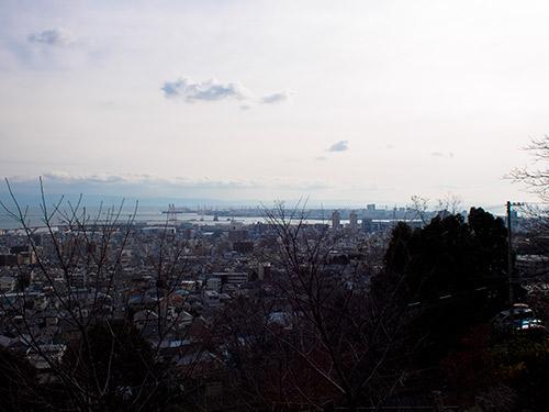 灘丸山公園からの眺め
