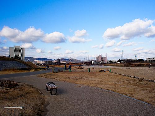 武庫川-仁川合流付近