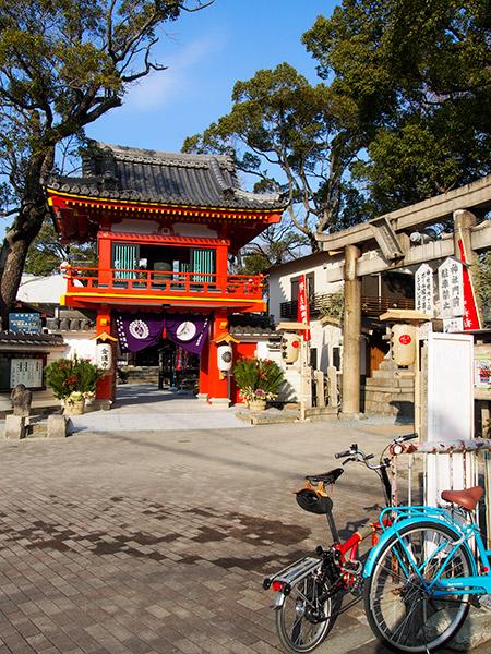 素戔嗚神社と金蓮寺