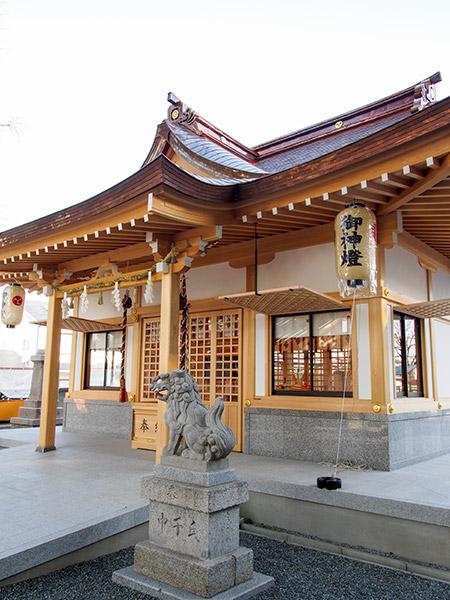 素戔嗚神社 拝殿