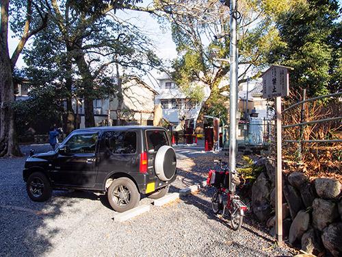 藤森神社 駐輪