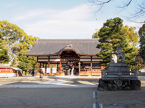 藤森神社 拝殿