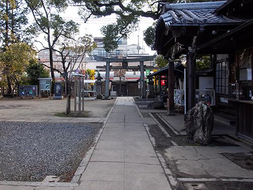 新熊野神社 境内