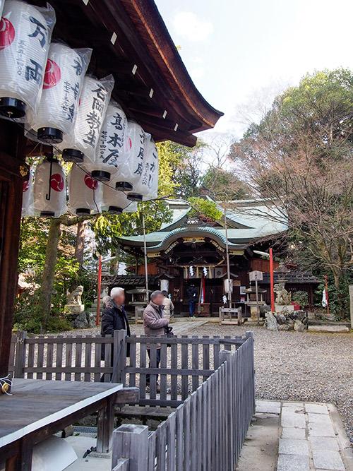 粟田神社 本殿