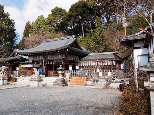 熊野若王子神社 拝殿