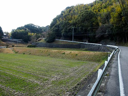 兵庫県道460号線 勾配