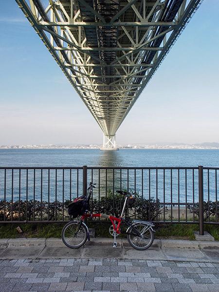 淡路島 明石海峡大橋