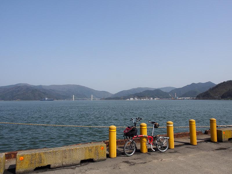 舞鶴前島埠頭