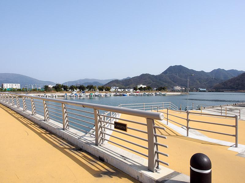 前島みなと歩道橋