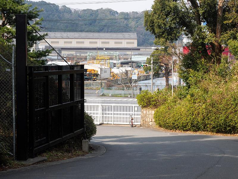 海軍記念館 駐輪