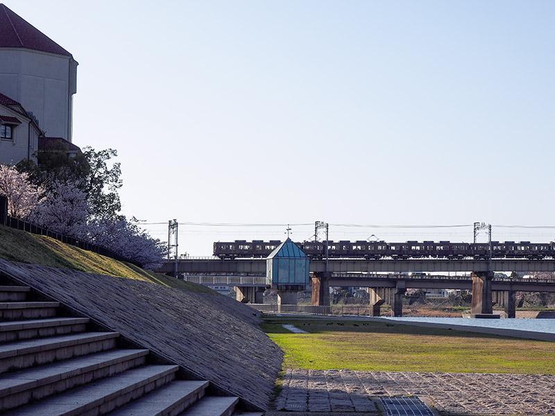 宝塚 武庫川 阪急電車