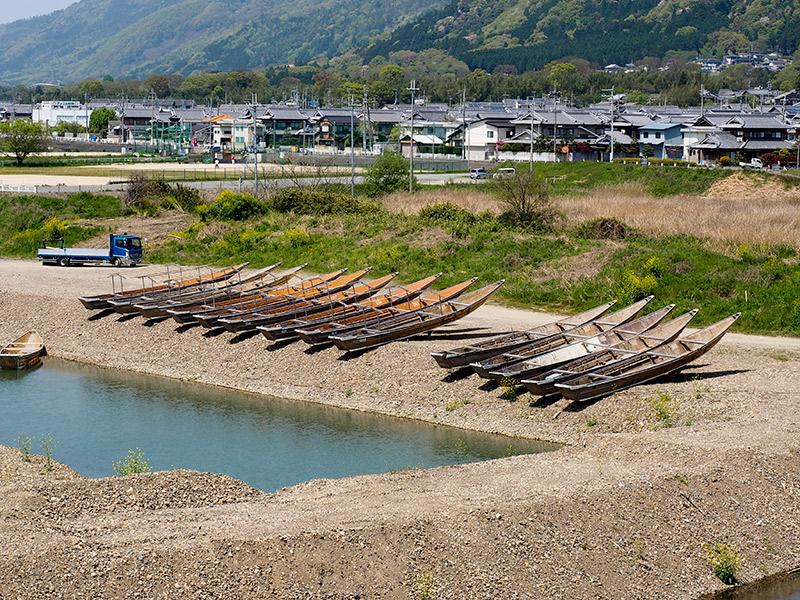 保津川下り 船