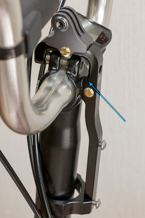 Brompton bottle cage adaptor