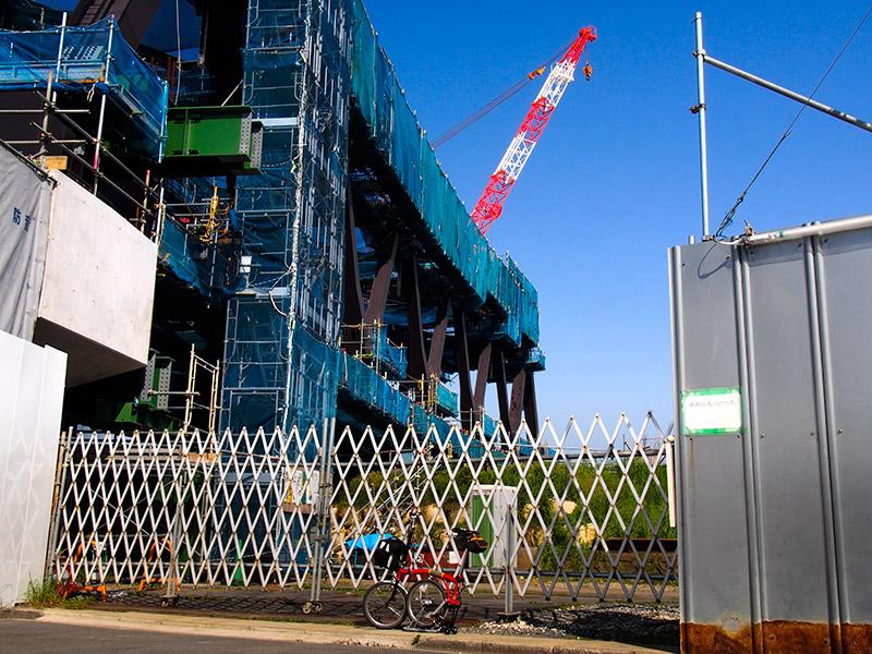 JRおおさか東線 神崎川橋梁 2015