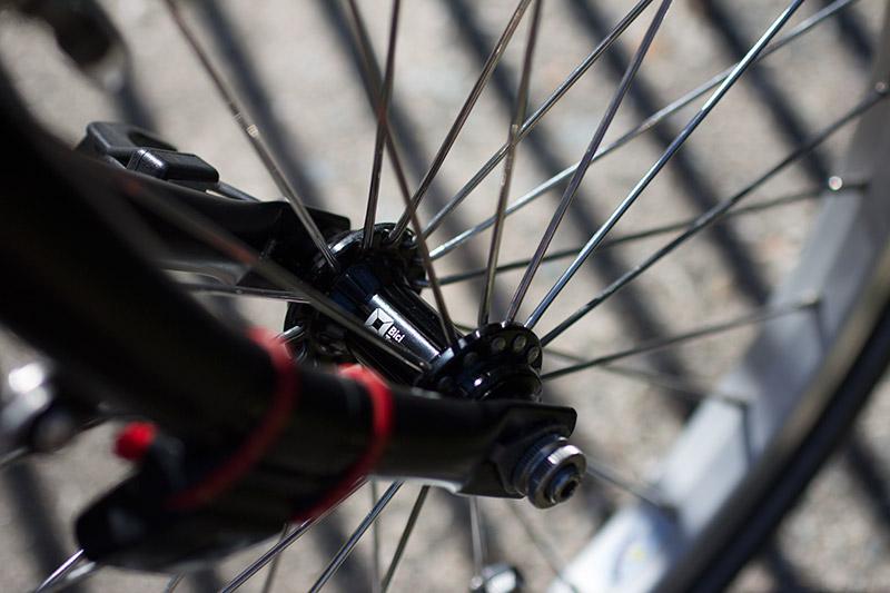 BiciTermini Brompton original front hub
