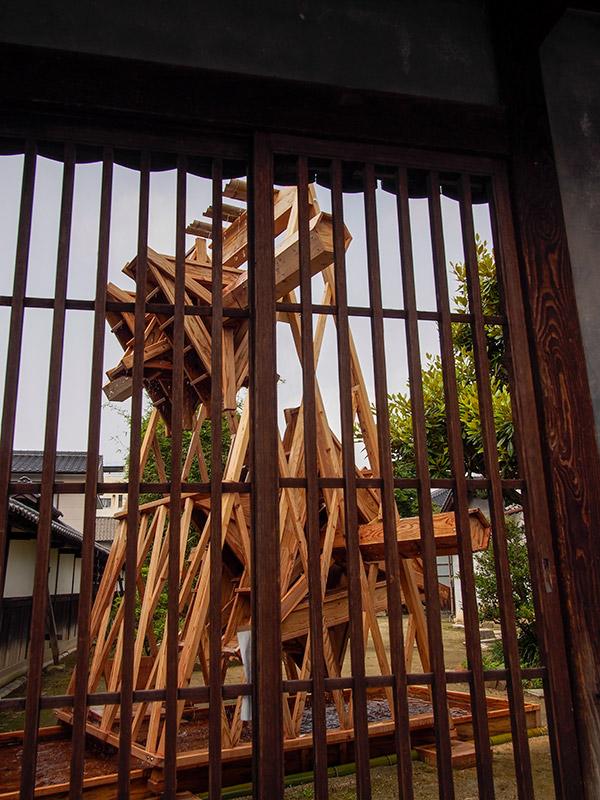竹原 松阪邸 水車