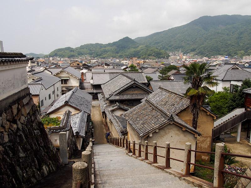 竹原 西方寺から