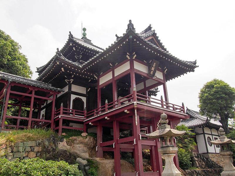 竹原 西方寺 普明閣