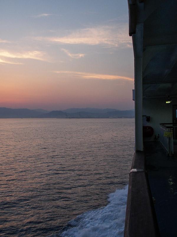 広島湾 夕暮れ
