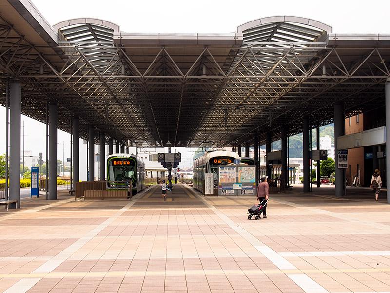 広電宇品線 広島港駅