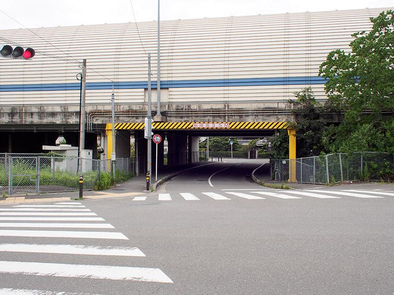 名神高速道路 高架