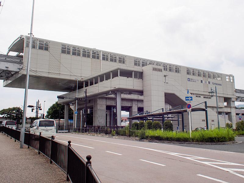 大阪モノレール 豊川駅