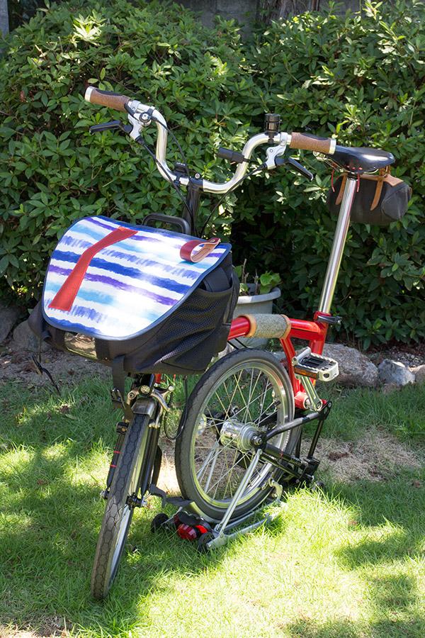 the Brompton S-Bag original flap