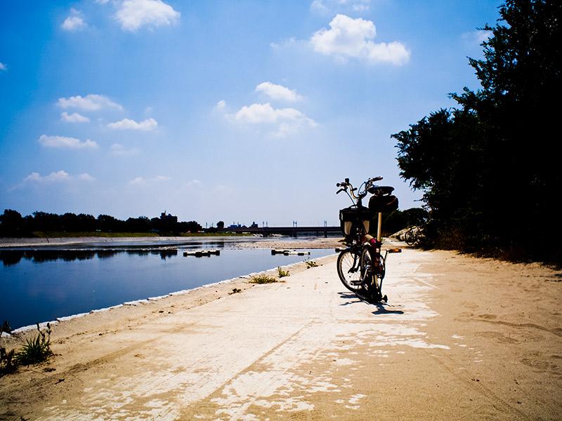武庫川右岸