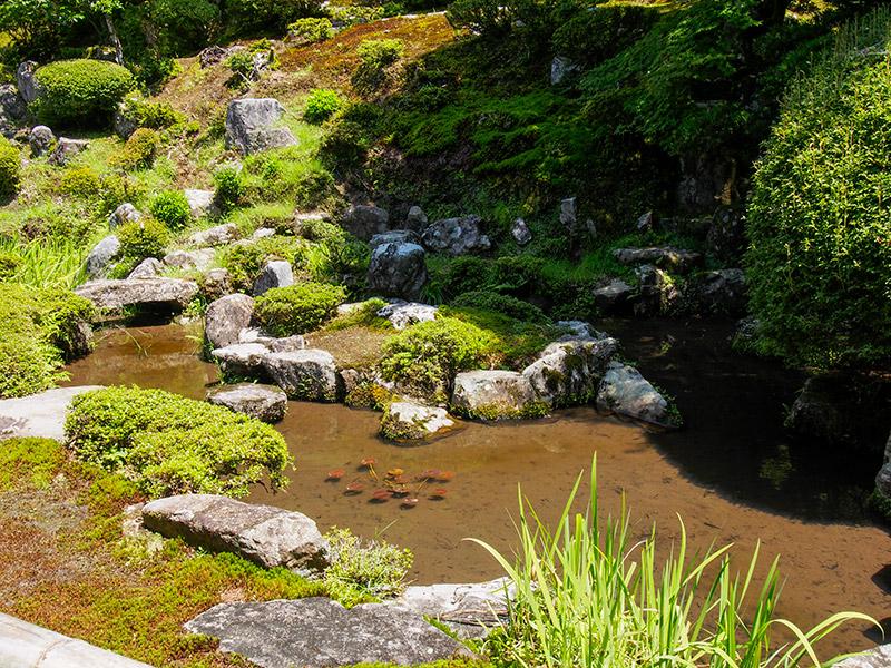 宗鏡寺 鶴亀の庭