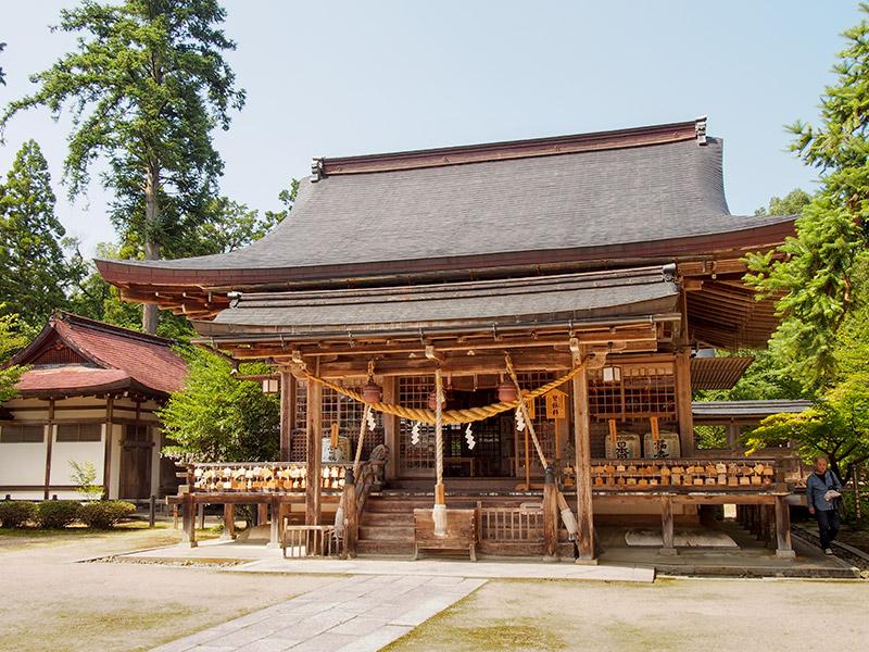 出石神社 拝殿