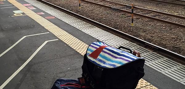 豊岡駅ホーム