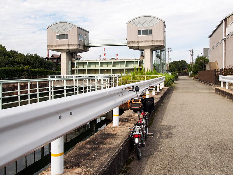 水田川水門