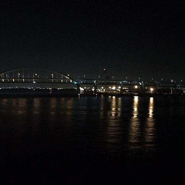 六甲大橋からフェリーバース