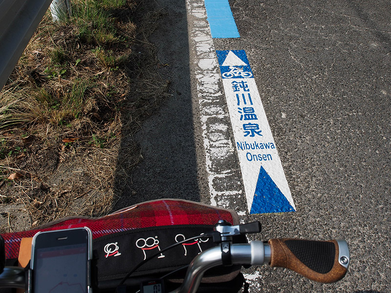鈍川温泉 導線