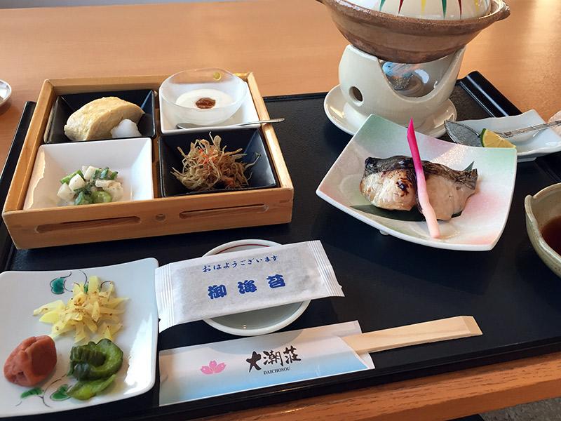 大潮荘 朝食