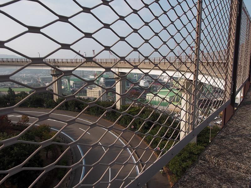 来島海峡大橋 今治側アプローチ