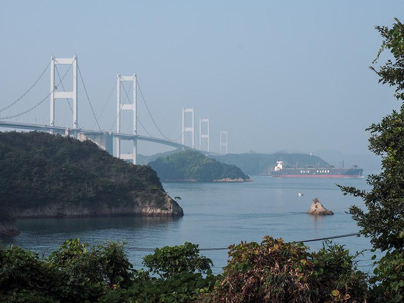 大島から来島海峡大橋