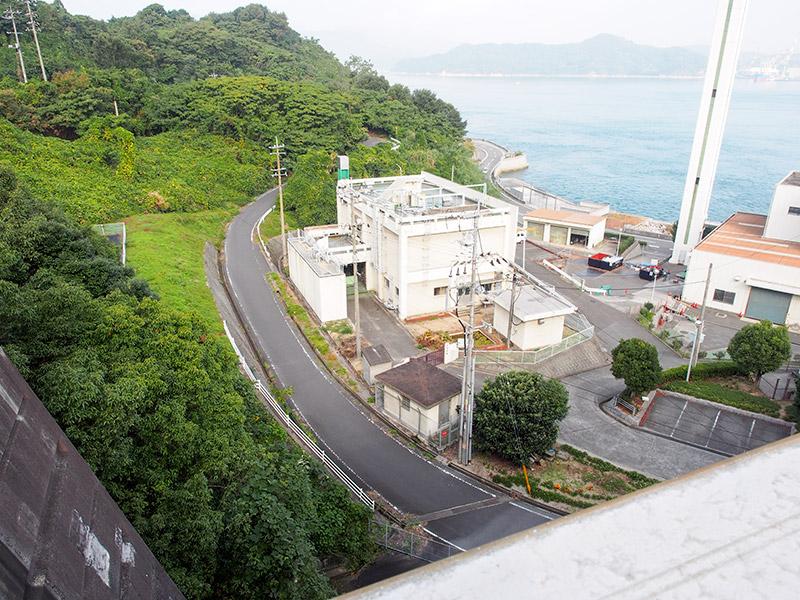 伯方・大島大橋 原付入口
