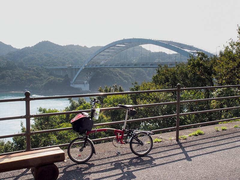 大三島橋 (大三島側から)